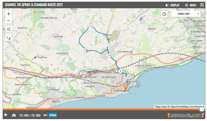 2021 cycle route